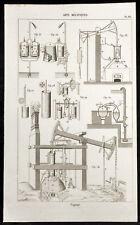 1852 - Engraving Arts Machine Heads: Machine in Steam