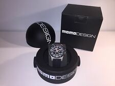 New - Reloj Watch MOMO DESIGN Pilot Pro MD-1164 - Stainless Steel - With Box