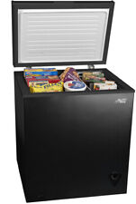 Chest Deep Freezer 5 Cu Ft Compact Upright Defrost Home Storage Energy Efficient