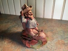 Tom Clark Gnome Buffalo Bill Ed. 41, item #1095, created 1985, Coa, Euc