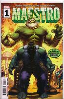 MAESTRO #1 (DALE KEOWN HOMAGE VARIANT) Comic Book ~ Marvel Comics Hulk
