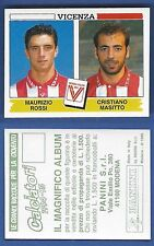 FIGURINA CALCIATORI PANINI 1994/95 - NUOVO/NEW N.550 ROSSI/MASITTO - VICENZA