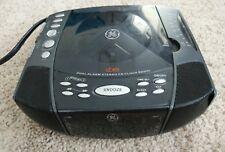 Ge 7-4897A Digital Alarm Stereo Cd Player Clock Radio Am/Fm Green Led Display