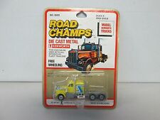 Road Champs Model Kenworth Truck (yellow) (2)