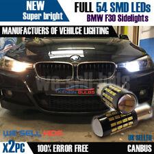 2X BAX9S H6W 57 SMD BMW serie F30 3 Luci Di Posizione Lampadine Canbus Senza Errori