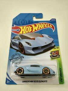 Hot Wheels Lamborghini Sesto Elemento HW Exotics 164/250 2020