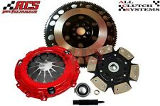 ACS STAGE 3 CLUTCH KIT+LIGHT FLYWHEEL FOR 2008-2011 HONDA CIVIC Si 2.0L