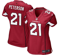 Nike NFL Women's Patrick Peterson #21 Arizona Cardinals Home Game Jersey (M)