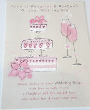 Special Daughter & Husband on your Wedding day. Card by Just Write. 12 avail.
