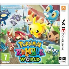 Pokemon Rumble World Nintendo 3ds Game - and