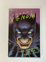 Batman Venom Graphic Novel Dc Comic Bane Dennis O'Neil