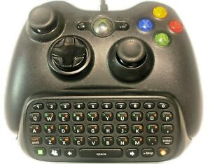 Microsoft Xbox 360 Chatpad Black