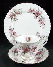 Royal Albert LAVENDER ROSE Trio Bone China GREAT CONDITION