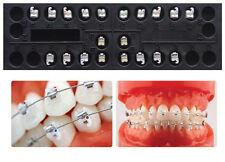 1X Sino Dental Orthodontic Brackets Ceramic Self Ligating MBT 0.22 3 Hooks