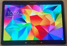 Samsung Galaxy Tab S SM-T807A 16GB, Wi-Fi + 4G (AT&T) Unlocked - Charcoal Gray