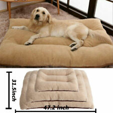Super Large Pet Bed Mattress Dog Cat Cushion Pillow Mat Blanket Soft Winter Warm