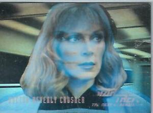 Star Trek TNG Seasons Three Hologram Chase HG5 Dr. Beverly Crusher - Skybox 1995