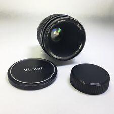 VIVITAR Konica Auto Macro 55mm f/2.8 Lens Auto Focus Japan