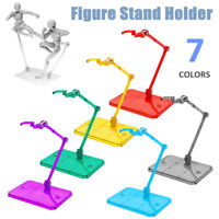Multi Color HG Action Figure Base Stand Holder Fit For RG SD SHF Gundam