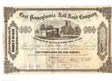 East Pennsylvania Railroad Company  1875