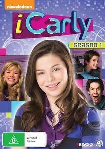 iCarly : Season 1 ( DVD , 4 Disc Set ) Brand New Region 4
