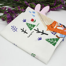 Cute Cotton Fabric Sewing Textiles Baby Clothes Skirts Cloth Pillow DIY Crafts