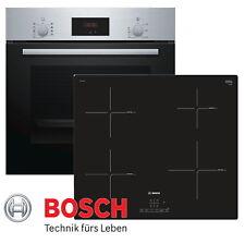 Induktion Herd Set Bosch Einbau Backofen +  Induktion Glaskeramik Kochfeld 60cm