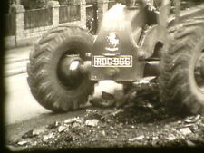 Road repairs in Bristol  1956 Mechanised with Grader and tractor harrows unusual
