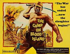 """Camp on Blood Island"" - Original 1958 - WIDESCREEN - Hammer Film War Movie- DVD"
