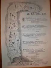 Crosfield's Soap Legend of Murki Tahk 1887 advert