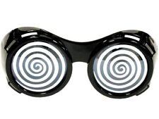 X RAY HYPNO GLASSES HYPNOTIC Black Sunglasses Costume XRAY Swirl Funny Goggles