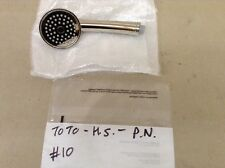TOTO TRADITIONAL HANDSHOWER ONLY, POLISHED NICKEL, #10