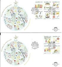 Nederland - FDC 779 a+b Kerstzegels