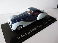 Voiture 1/43 IXO altaya Voitures d'autrefois  TALBOT LAGO T150SS Figoni 1938