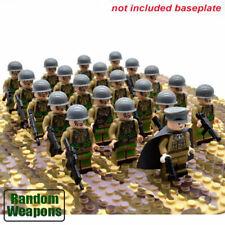 21 un. Segunda Guerra Mundial Soldados Ejército Militar nos Francia arma Minifiguras Construcción de Gran Bretaña