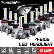 New listing 4Side Led Headlight Bulb Kit 880 881 H7 H4 H11 H13 9005 9006 9007 5202