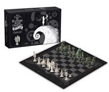 Nightmare Before Christmas Chess Set Tim Burton collectible 25th anniversary new