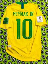 Rare Nike Brazil Home Soccer Football Jersey World Cup 2018 Neymar Jr