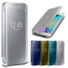 Fundas con tapa color principal transparente para teléfonos móviles y PDAs Samsung