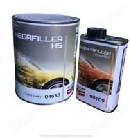 FONDO 1 Litro ACRILICO 5:1 MEGAFILLER HS 04 638  + CATALIZZATORE 200 ml Lechler