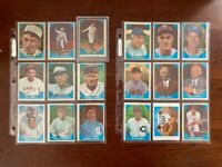 1960 Fleer Baseball complete set Babe Ruth Ted Williams Lou Gehrig Cy Young