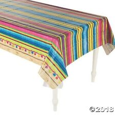 Serape Plastic Table Cover Fiesta Mexican Cinco De Mayo Mexican Spanish Party