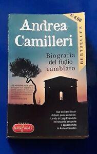 Andrea Camilleri Biografia del figlio cambiato▪︎superPocket 2003