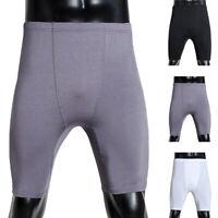 Muslim Mens Underwear Soft Boxers Briefs Arab Long Leg Shorts Underpants Pant