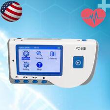 Handheld Portable Color Screen Ecg Ekg Monitor Single Channel Pc 80b