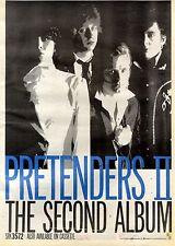 8/8/1981Pg23 Album Advert 15x10 Pretenders Ii Srk 3572