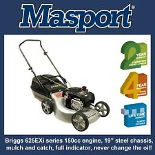 "Masport 625ST Lawn Mower - Briggs 150cc, 19"" cut"