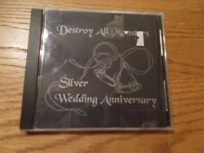 DESTROY ALL MONSTERS CD SILVER WEDDING ANNIVERSARY
