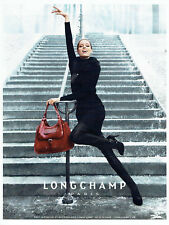 publicité Advertising 117  2012  Longchamp  pret à porter accessoires sac *