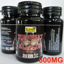 TONGKAT ALI  PLUS ◆ 200:1 ROOT EXTRACT ◆ LONGJACK PASAK BUMI CAPSULES BIG 600 MG